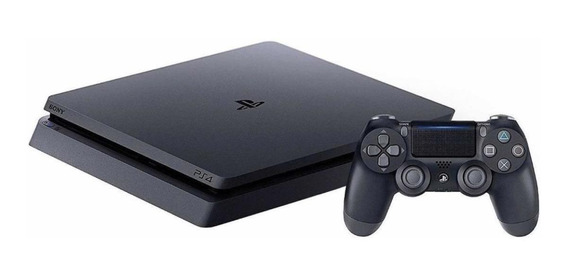 Sony PlayStation 4 Slim 1TB Mega Pack: Grand Theft Auto V Premium Edition/Days Gone/Horizon Zero Dawn Complete Edition/Fortnite jet black