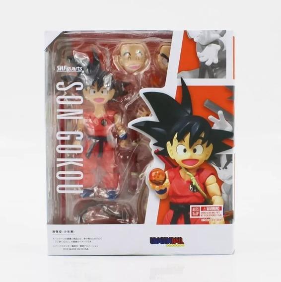 Dragon Ball Goku Criança Action Figure Articulado Cod 93