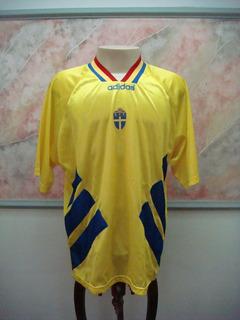 Camisa Futebol Suecia Seleção adidas Antiga 957