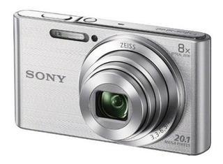 Sony W830 Cámara Digital Zoom Silver