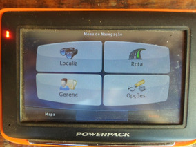 Gps 4.3´´ Powerpack 4326 Funcionando Sem Carregador Barato.