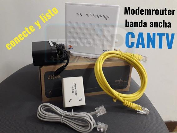 Modem Router Banda Ancha Adsl Wifi Zte