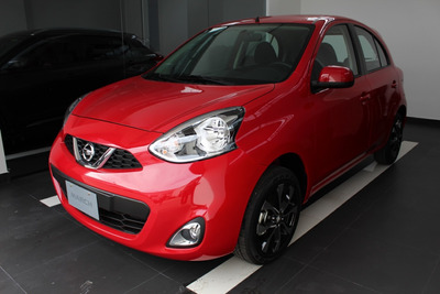 Nissan March Connect Motor 1.6 Modelo 2020 Rojo 5 Puertas
