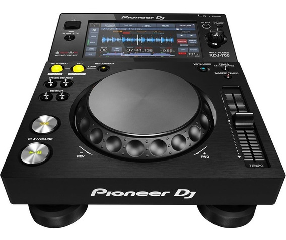 Xdj 700 Pioneer Multi Player C/ Nota Fiscal P/ Entrega Grtia