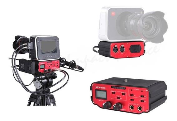 Adaptador De Áudio Saramonic Bmcc-a01 Para Câmera De Cinema