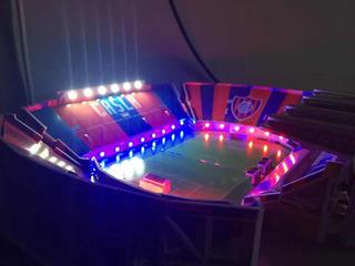 Estadio 3d San Lorenzo Nuevo Gasometro Con Luces Led + Tecla