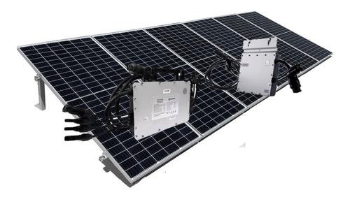 Imagen 1 de 5 de Kit De 6 Paneles Solares 450w Genera 700kwh Bim - 220v