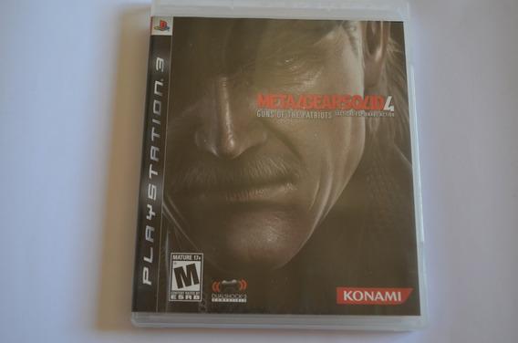 Jogo Original Ps3 Metal Gear Solid 4