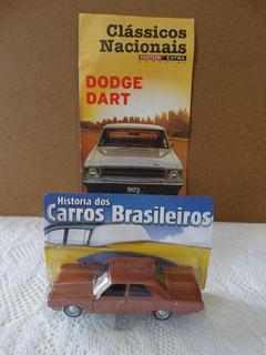73 Dodge Dart Historia Dos Carros Do Brasil 1:43 Com Revista