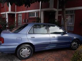 Hiunday Elantra 1996. Motor 1.8. Azul. 5 Puertas.