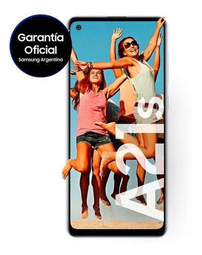 Celular Libre Samsung Galaxy A21s 64 Gb Blanco 4 Gb Ram