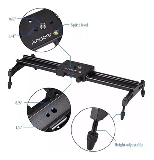 Slider Dolly Profesional Para Video Canon Sony Dslr