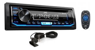Radio Jvc Bluetooth Cd Usb iPhone Aux Nuevo Tienda 90vdrs