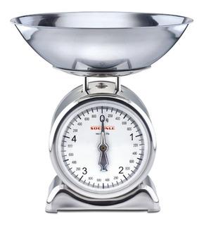 Balanza De Cocina Acero Inoxidable Leifheit Soehnle 5kg