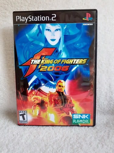The King Of Fighters 2006 Para Playstation 2 - Patch
