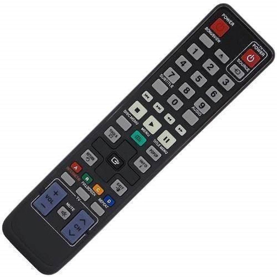 Controle Home Theater Blue-ray Samsung