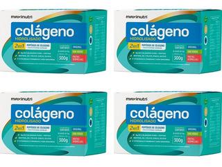 Colágeno Hidrolisado 2 Em 1 Sabores Sortidos - 4x 30 Sachês