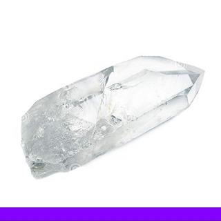 1 Punta De Cuarzo Cristal De 3 Cm Aprox Seleccionada! Promo