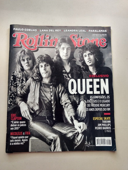 Revista Rolling Stone 95 Queen Paralamas Do Sucesso Y490