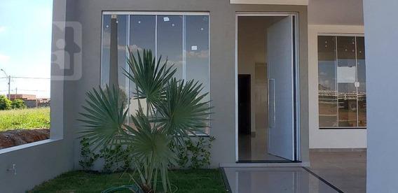 Casa Com 3 Dormitórios Sendo Uma Suíte À Venda, 140 M² Por R$ 390.000 - Aeroporto - Araçatuba/sp - Ca0944