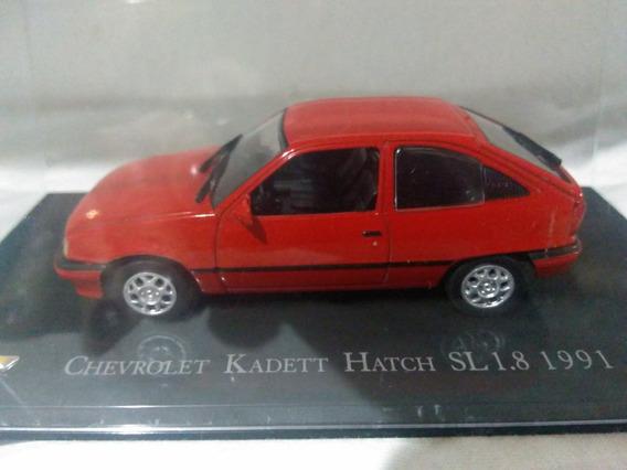 Miniatura Chevrolet Kadett Hatch Sl 1.8 1991 Escala 1/43