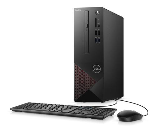 Computador Desktop Dell Vostro 3681 10ª G I3 4gb 1tb Linux