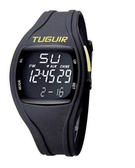 Relógio Unissex Tuguir Digital Tg1801 - Preto E Verde C Nfe