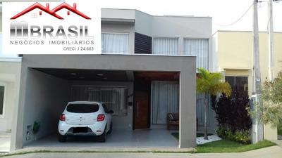 Lindo Sobrado, Villaggio De Itaici, Indaiatuba, Sp - Ca05050 - 33845620