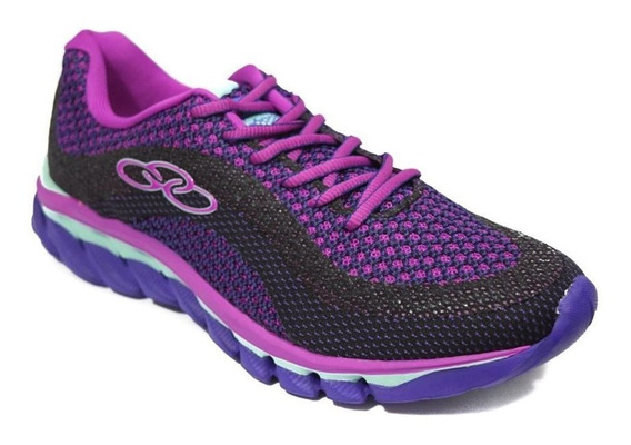 Zapatillas Olympikus Running Fusion Mujer Violeta
