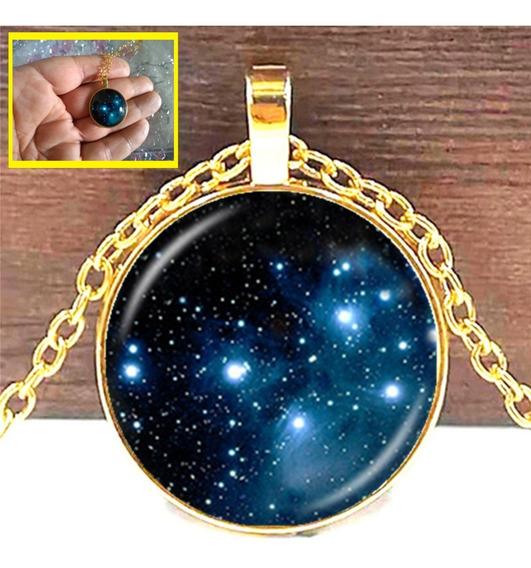 Colar Nebulosa - Galaxia - Planeta - Esotérico - Astros