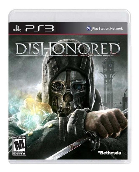 Dishonored Ps3 Mídia Física Novo Lacrado