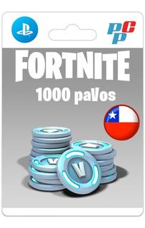Fortnite 1000 Pavos Digital - Psn Chile Ps4- Prepagochile