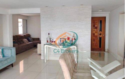 Imagem 1 de 22 de Apartamento Com 4 Dormitórios À Venda, 115 M² Por R$ 750.000,00 - Vila Santo Antônio - Guarulhos/sp - Ap4452
