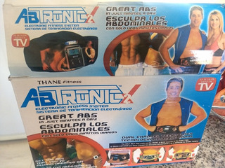 Abtronic X 2 (cinturón Con Electrodos)