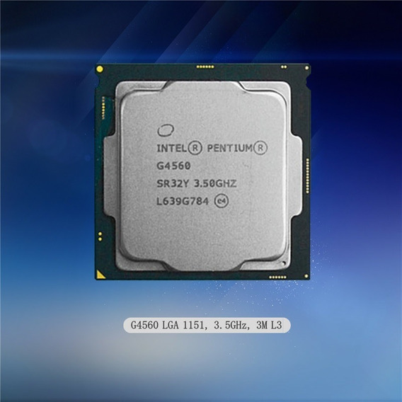 Processador G4560