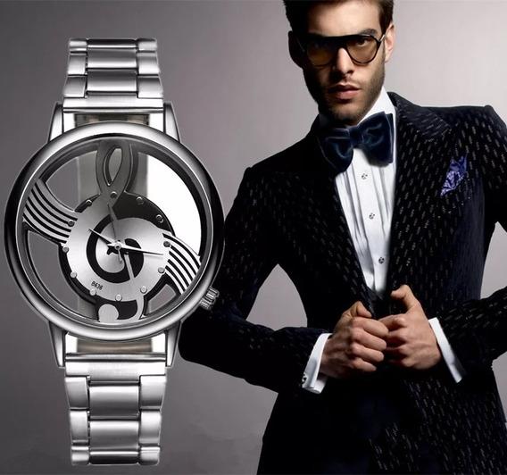 Relógio Masculino Grátis Coleção Pingente De Música