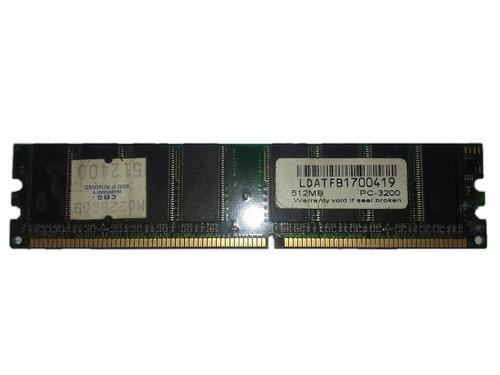 Memoria Ram Ddr1 512mb Pc3200 400mhz