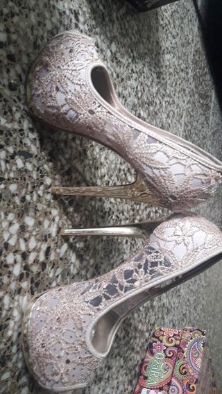 Zapatos De Fuesta, Talle 38