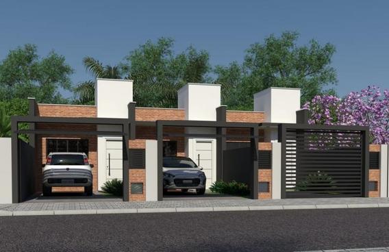 Casa Em Itacolomi, Balneário Piçarras/sc De 60m² 2 Quartos À Venda Por R$ 155.000,00 - Ca132243