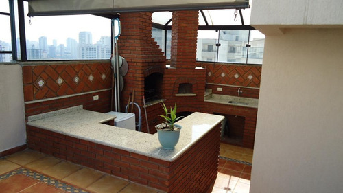 Cobertura Residencial À Venda, Jardim Anália Franco, São Paulo. - Co0100