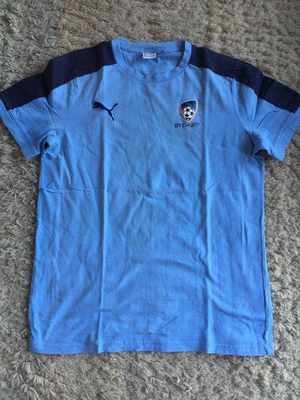 Camiseta Torcedor Sydney Fc Original Puma Algodão Tamanho M!