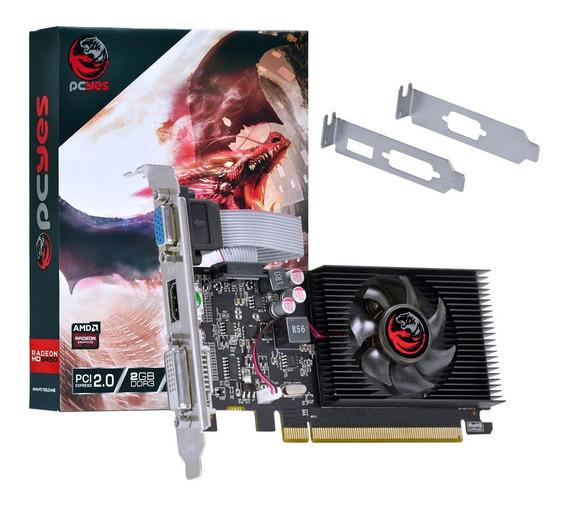 Placa De Video Amd Radeon 6450 1gb Ddr3 64bits Low Profile