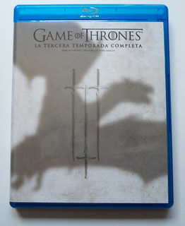 Game Of Thrones - Juego De Tronos - Temporada 3 - Blu-ray