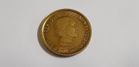 Moneda Evita 1997 Conmemoracion 50 Años Ley Voto Femenino
