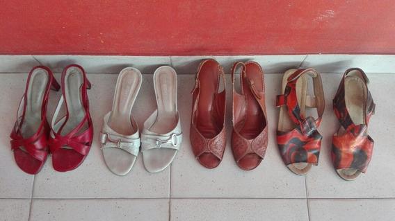 Lote De Zapatos De Mujer, Primavera/verano, Talles 37 Y 38