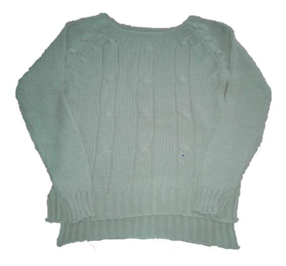 Sweater Juvenil Corte Irregular (varios Colores)