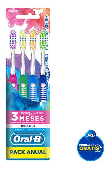 Oral-b Indicator Cepillo Dentale X4