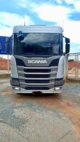 Imagem 1 de 9 de Scania R 500 6x4 Prata 2019 Optcruise, C/retarder