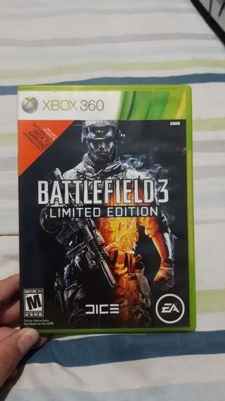 Battlefield 3 Original E Usado Xbox 360 - Mídia Física