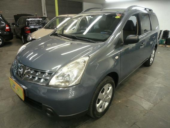 Nissan Grand Livina 1.8 Sl Flex Aut Completo 7lug 2012 Cinza